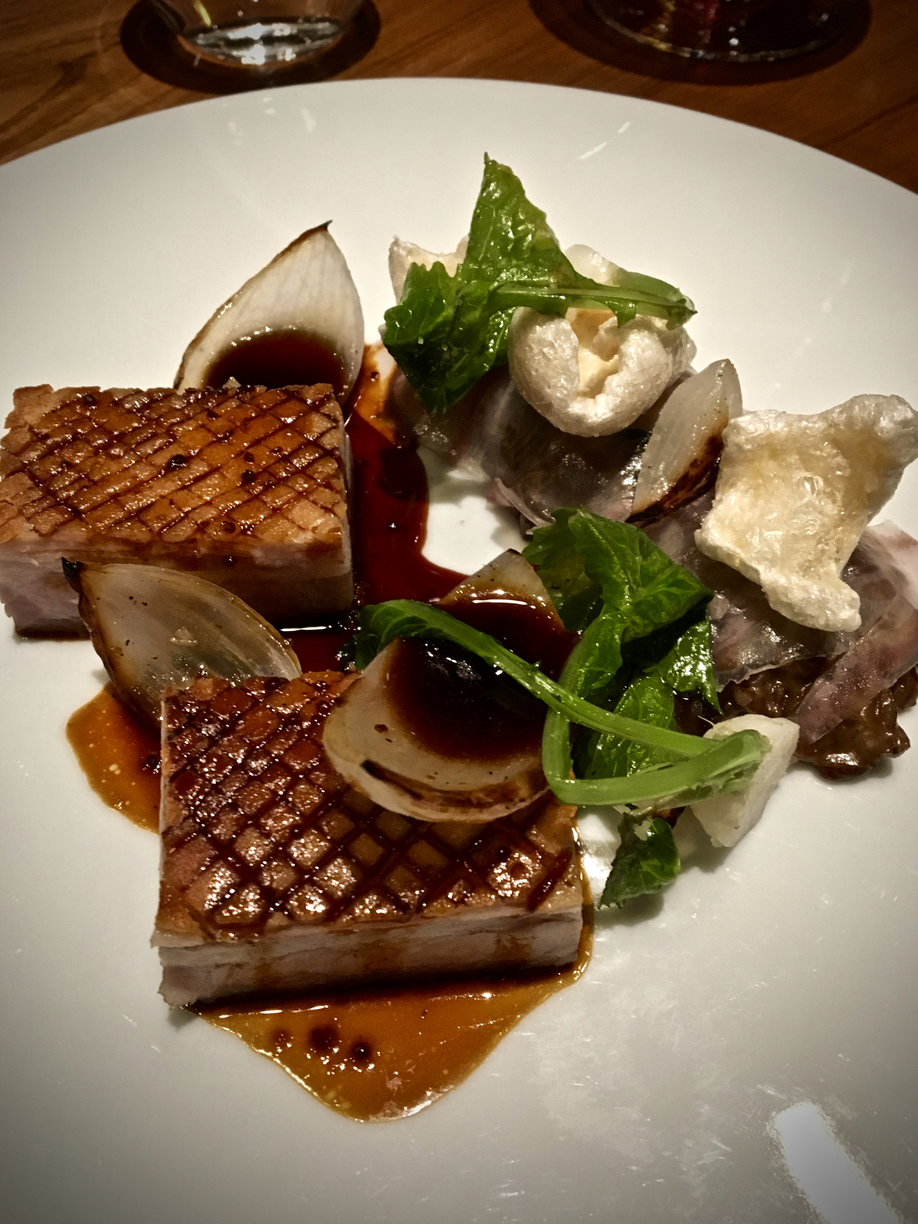 Pork Belly Dinner by Heston